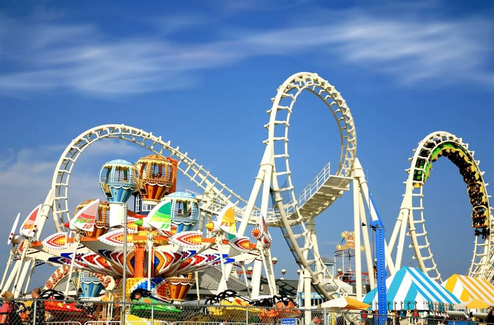 Photo of an amusement park: one of the fun things to do in Lake George with kids